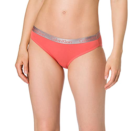 Calvin Klein Bikini Ropa Interior, Rosa Porcelana, M para Mujer