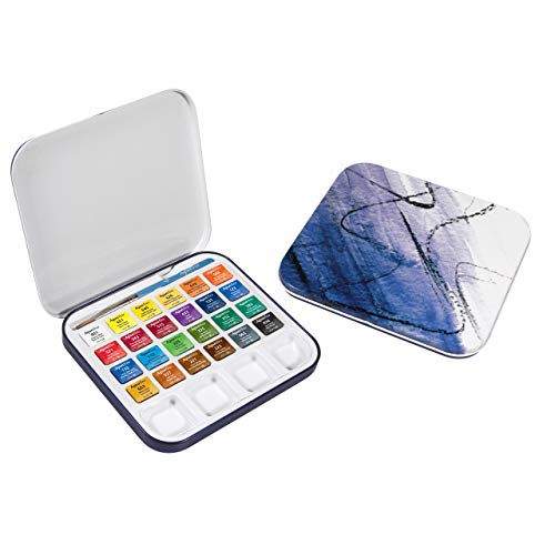 Aquafine Watercolor Travel Set of 24
