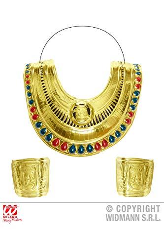 WIDMANN WDM8512C - Collare e Bracciali Cleopatra, Multicolore, Taglia Unica