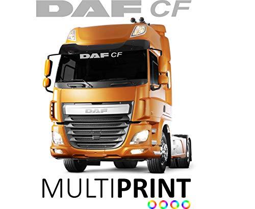 MultiPrintSW DAF CF Lorry Truck Windscreen Sun Visor Sticker Decal Cab Window Glass HGV LOR42