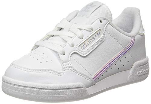 adidas Continental 80 C, Zapatillas, FTWR White/FTWR White/Core Black, 35 EU