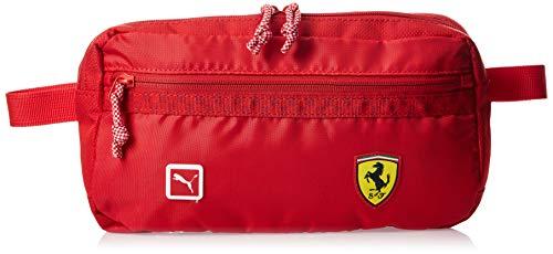 PUMA Ferrari Fanwear Waistbag Riñonera, Unisex-Adult, Rosso Corsa, OSFA