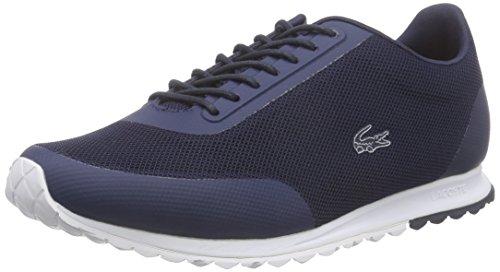 Lacoste Sport Helaine Runner 116 3 SPW, Zapatillas para Mujer, Azul (Nvy/Wht), 37.5 EU