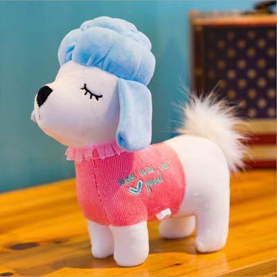 N / A 25cm Cartoon Schöne kleine Pudel Kurze Plüschtiere Kuscheltier Hund Plüsch Puppenspielzeug Kinder Kinder Geburtstagsgeschenk 25CM