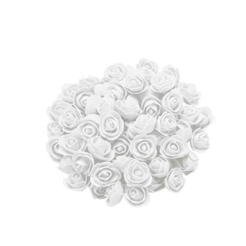 100 stuks schuim roos bloem hoofd voor bruiloft auto decoratie verjaardag valentijn home decor diy pompom rosa scrapbooking ambachtelijke flores, a, china