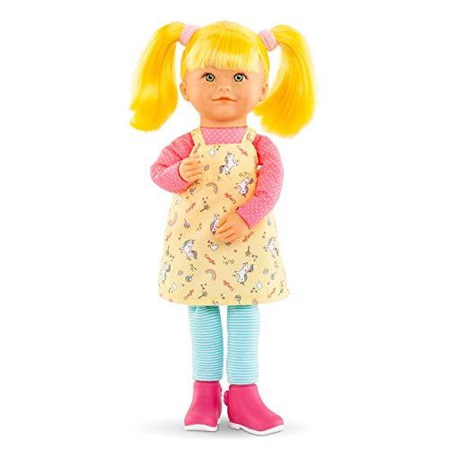 Corolle 9000300030 Rainbow Celeste/Französische Puppe mit Charme und Vanilleduft/Schlenkerbeine / 40cm
