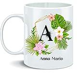 Tazza personalizzata con nome, regalo personalizzato per mamma, papà, bambini, amici, colleghi, WestMORELANDS