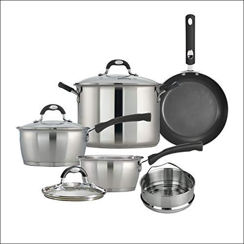 Tramontina 8 PC Kitchen Essentials Cookware Set