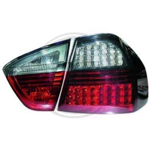 in. pro. 1216991 HD LED Feux arrière, Rouge/Noir