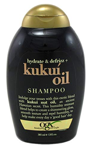Ogx Shampoo Kukui Oil Hydrate & Defrizz 13 Ounce (384ml) (6 Pack)