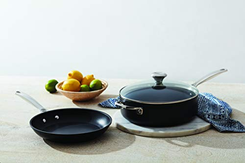 "Le Creuset Toughened Nonstick PRO Cookware Set, 3 pc. (10"" Fry Pan, 4.25 qt. Saute Pan with Lid)"