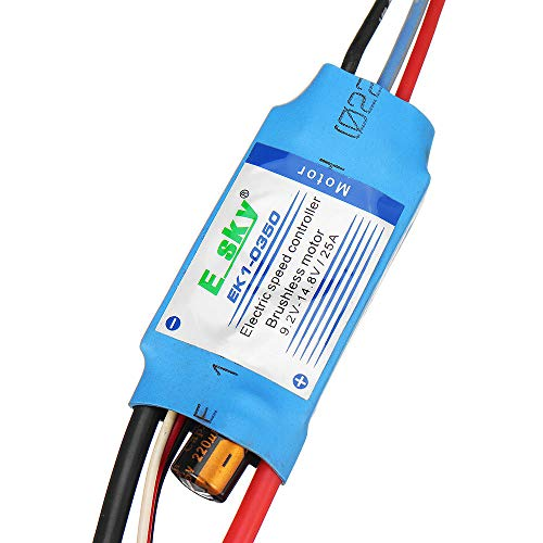 WFBD-CN Modulo elettronico for RC Modelli ESKY EK1-0350 14.8V 25A 2-3S Brushless ESC con 5V 2A BEC