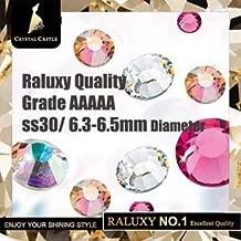 ASTONISH Crystal Castle Light Peach - Perlas de Cristal para Vestido de Boda, 288 Unidades, diseño Atractivo