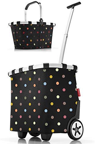 reisenthel Set carrycruiser + carrybag Einkaufstrolley Einkaufskorb dots OE7009 + dots BK7009