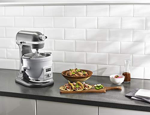 KitchenAid KSM1CBL Precise Heat Mixing Bowl For Bowl-Lift Stand Mixers,White