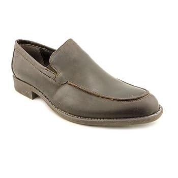 Giorgio Brutini Mens Wilder Slip On Casual Loafer Shoe Distress Brown US 7.5