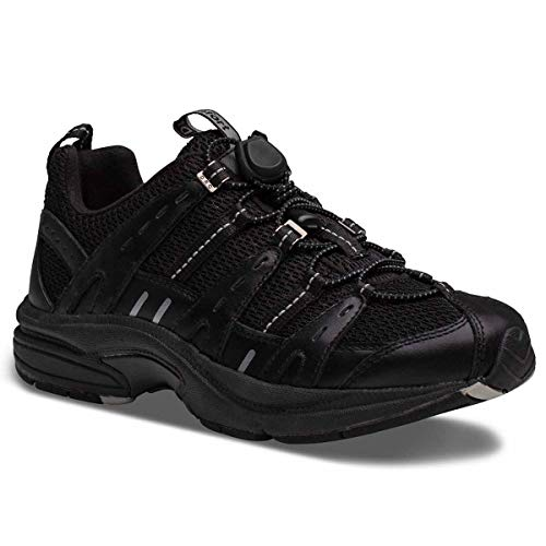 Dr. Comfort Refresh Women's Therapeutic Diabetic Extra Depth Shoe black Size: 4 UK