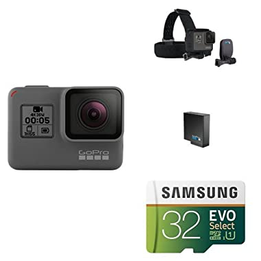 GoPro HERO5 Black w/ Head Strap, Battery and Memory Card