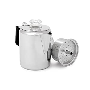Versatile GSI Outdoors Glacier Percolator Coffee Pot