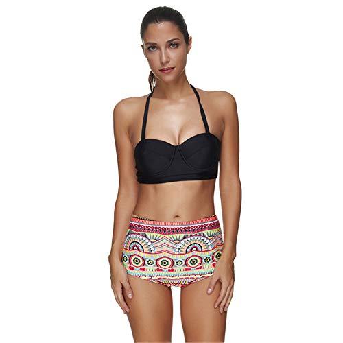 Mini-bikiniset met sling-ontwerp, slipje met hoge taille, sexy ondergoed voor dames, geschikt voor dagelijks gebruik bij vrouwen, badpakfeest
