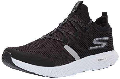 Skechers Men's Horizon Sneaker, Black/White, 10 M US