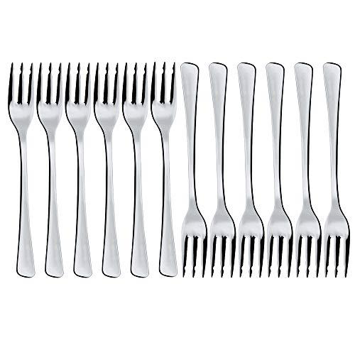 Menax - Juego de 12 Tenedores - Acero Inoxidable - Set de 12