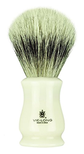 Vie-Long 13065 White Horse Hair Shaving Brush