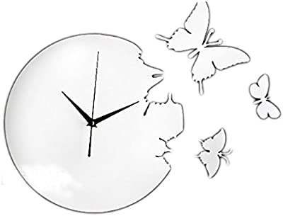 CLG-FLY Stylish Classic Quartz Wall Clock Non Ticking Silent Sweeping Seconds #22 with