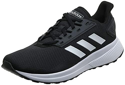 Adidas Duramo 9, Zapatillas de Entrenamiento para Hombre, Negro (Core Black/Footwear White/Core Black 0), 45 1/3 EU