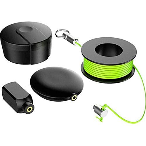 LeftSuper Extractor de tendido de Cables Tubo de Nailon magnético Línea Oculta...