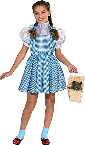 Disfraz de Dorothy de El Mago de Oz, de Rubie'S, para niños pequeños, Edad 3–4años
