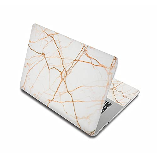 DIANXM Marble Grain laptop skin stickers 15.6' notebook sticker 15' computer decal 11' 12' 14' 13' for ma-c pro/xiao-mi air 13.3/len-ovo/h-p Anti-Scratch (Application Laptop Size : 15', Color : Gray)