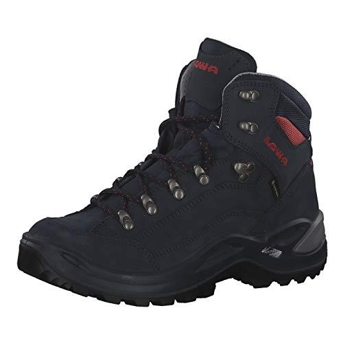 Lowa Renegade GTX MID Ws Damen Wanderschuh Outdoor Goretex 320945, Schuhgröße:39.5 EU