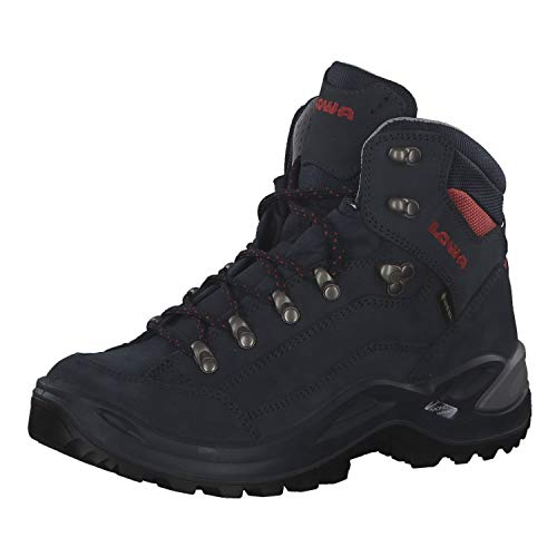Lowa Renegade GTX Mid Women Größe UK 5,5 Navy/Terra