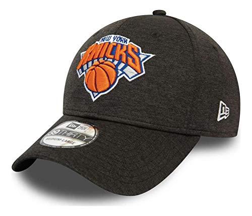 New Era - NBA New York Knicks Black Base Team Pop 39Thirty Stretch Cap - Schwarz Farbe Schwarz, Größe S-M