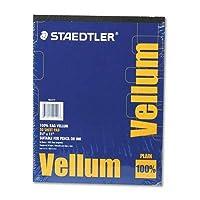 "Staedtler 100% Vellum Tracing Paper, 8 1/2"" x 11"" [並行輸入品]"