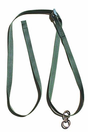 HeuToy Aufhängegurt mit Stahlwirbel - robust, stabil, lange haltbar