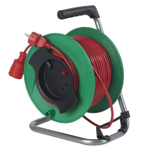 as Schwabe - Carrete alargador de cable (50 m, con protección térmica)