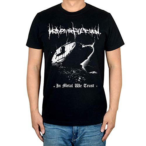 Kdloes Heaven Shall Burn Hardcore White Cotton T-Shirt,S-XXL Asian Size,2,XL