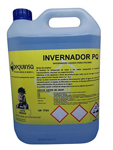 PEQUINSA Invernador líquido para Piscinas.Envase 5 litros.