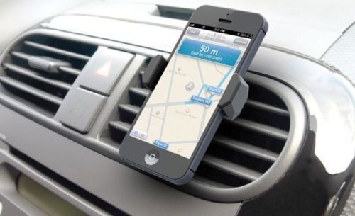Cell Phone Mount AS SEEN ON TV Phone Holder for Inside Car Mounts to Air Vent