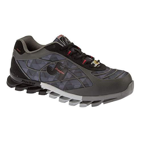 J'Hayber 3200100015 Bolt S1P HRO SRC ESD-sportschoenen, zwart, maat 43, meerkleurig