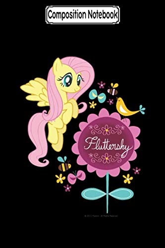 Composition Notebook: Fluttershy With Birds and Bees My Little Pony Journal/Notebook Blank Lined Ruled 6x9 100 Pages