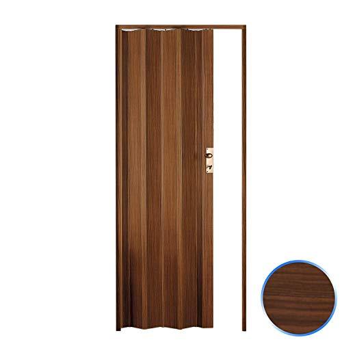Falttür für den Innenbereich aus PVC Mod. Luciana