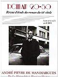 Roman 20-50, N° 5 Hors-série, Avr - André Pieyre de Mandiargues : De La Motocyclette à Monsieur Mouton