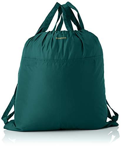 Bensimon Sliding Bag, Borsa Scorrevole Donna, Vert, TU