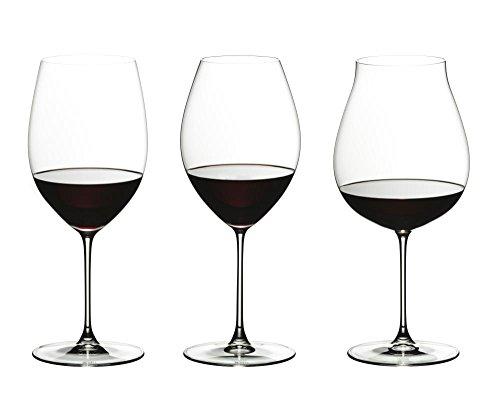 RIEDEL 5449/74Veritas Juego de Vasos, Cristal, Transparente, 9.5x 9.5x 27.5cm, 3Unidades