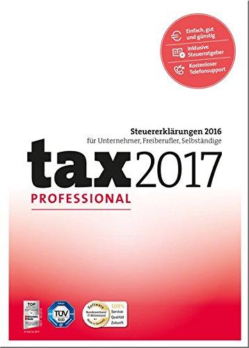 Preisvergleich Produktbild tax 2017 Professional (für Steuerjahr 2016)