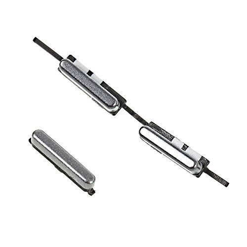 Kit de Repuesto (Teclas Exteriores Laterales) Encendido Power on/Off + Botón Exterior Control del Volumen +–Key para Samsung Galaxy J52016J510j510°F sm-j510; J72016°C De (Oro)