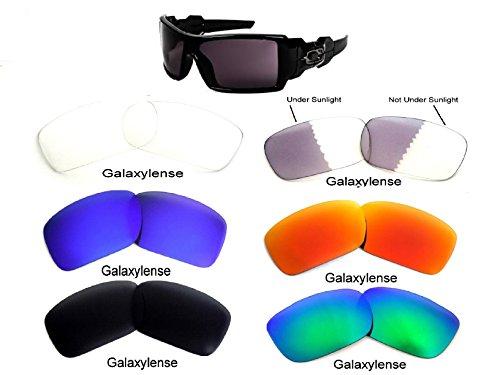 Galaxylense mannen vervangende lenzen voor Oakley olie Drum zonnebril 6 paar speciale aanbieding!